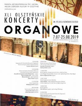 41. Olsztyńskie Koncerty Organowe