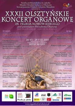 32. Olsztyńskie Koncerty Organowe