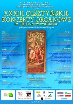 33. Olsztyńskie Koncerty Organowe