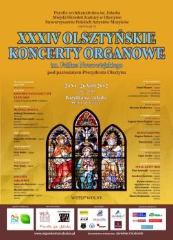 34. Olsztyńskie Koncerty Organowe