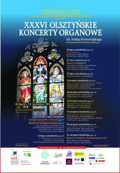 36. Olsztyńskie Koncerty Organowe