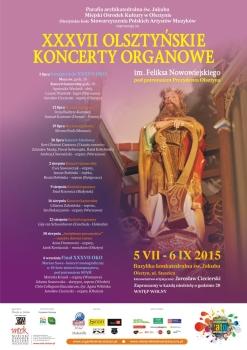 37. Olsztyńskie Koncerty Organowe