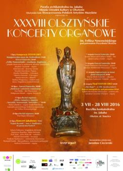 38. Olsztyńskie Koncerty Organowe