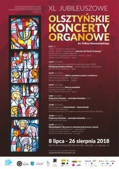 40. Olsztyńskie Koncerty Organowe